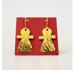 Earring Tanit Brass