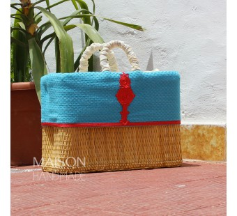 Couffin Zeena Turquoise & Rouge